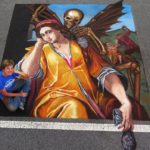 Shelley Brenner chalk artist