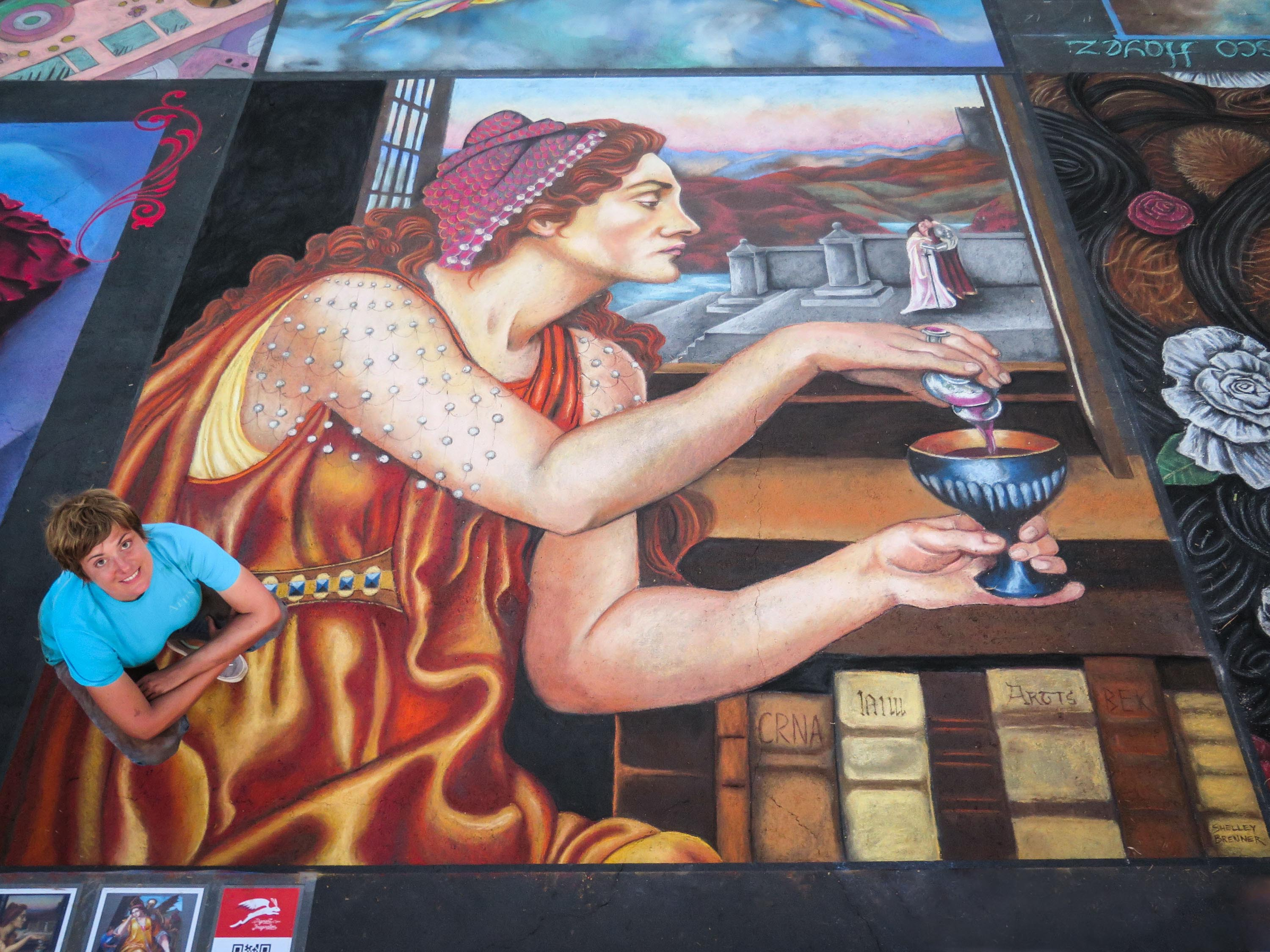 2016 International Chalk Festival, Venice, FL