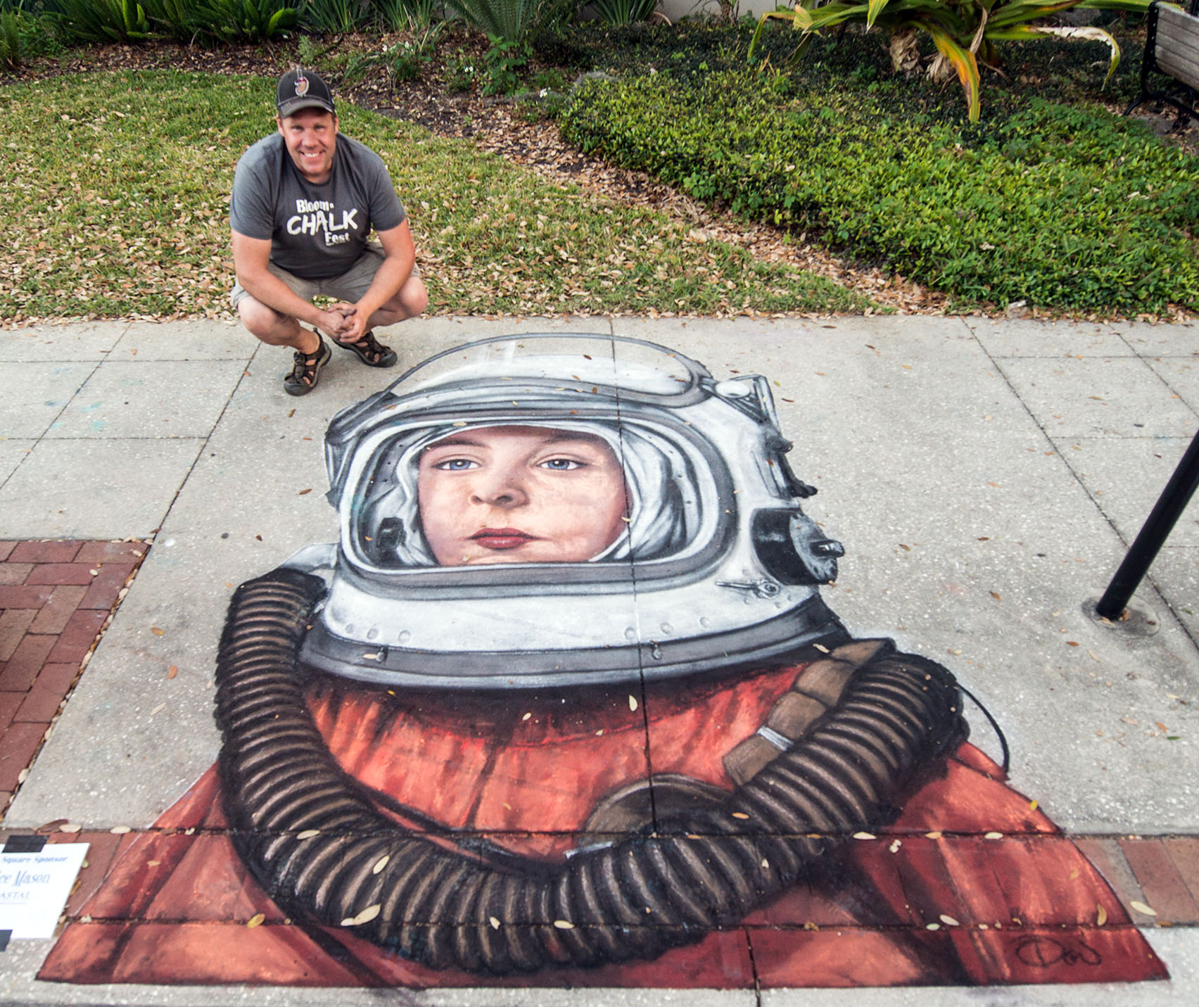 2017 Bloom n Chalk Fest, Safety Harbor, FL