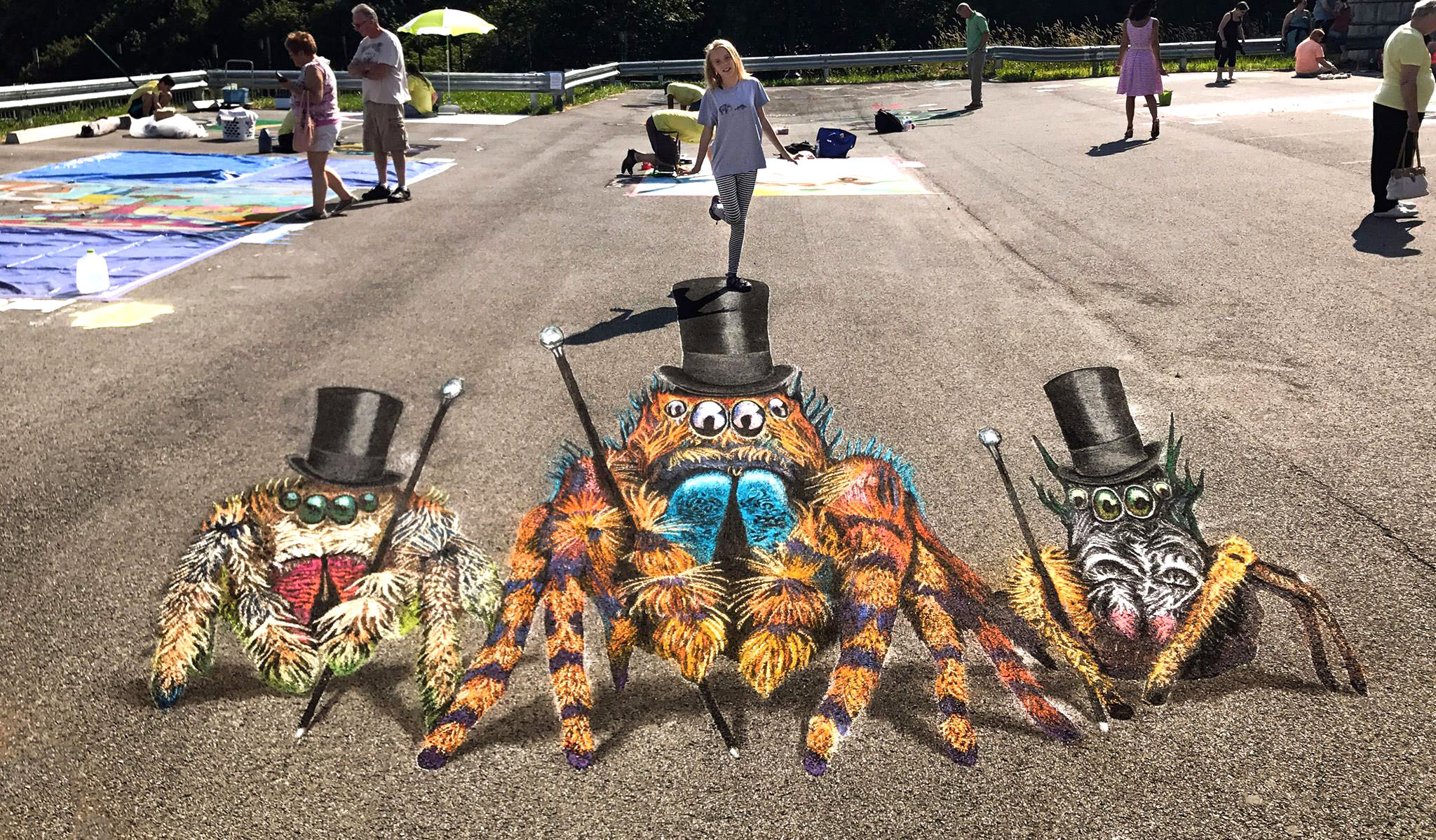 2017 Sweet Chalk Festival, Lockport, NY