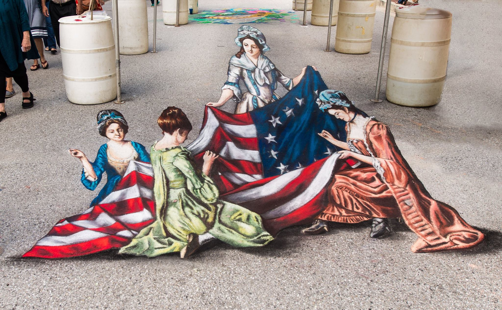 2017 Little Italy Madonnari Arts Festival, Baltimore, MD